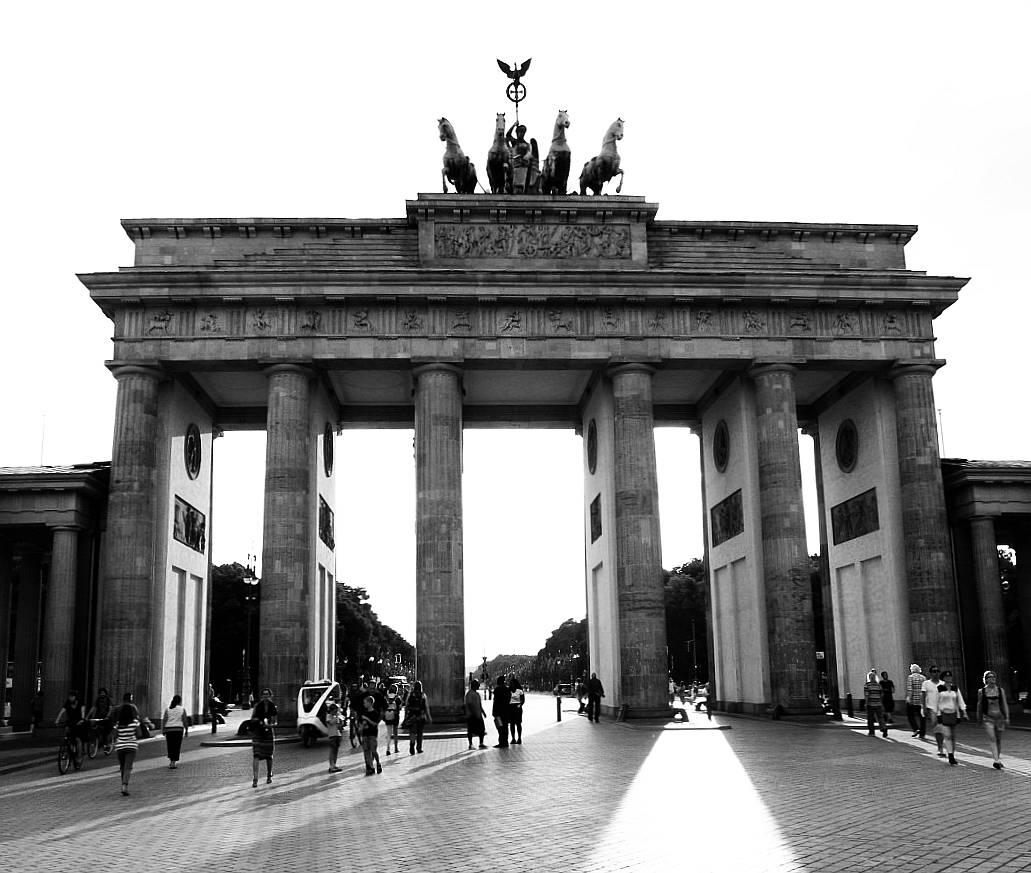 Berlin Central Brandenburger Tor Berlin